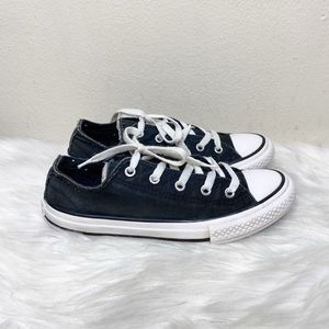 Converse All Stars Black Sneakers Low Top